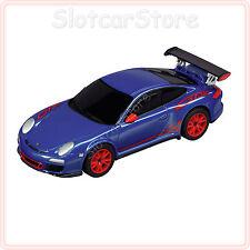 "Carrera Go 61217 PORSCHE gt3 RS ""BLU"" 1:43 CAR AUTO"