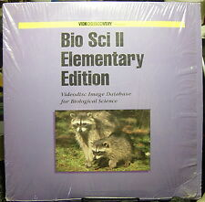 Bio Sci II-Elementary Edition-Videodisc Image Database for Biological Science