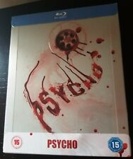 PSYCHO Blu-Ray Alfred Hitchcock Zavvi UK Exclusive Limited Edition STEELBOOK