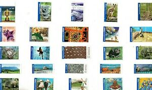 A MIX OF 25 DIFFERENT GOOD/FINE USED INTERNATIONAL POST STAMPS FROM AUSTRALIA