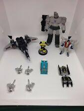 Transformers Mixed Lot Starscream Cyclonus Bumblebee Megatron