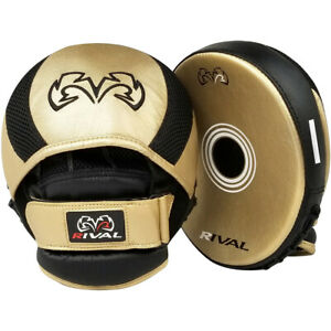 Rival Boxing RPM11 Evolution Punch Mitts - Gold