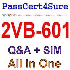 VMware Specialist: vSAN 6.x Badge 2VB-601 Exam Q&A+SIM