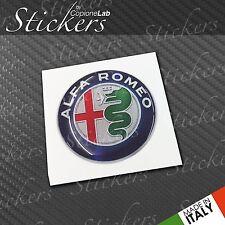 1 Adesivo Stickers ALFA ROMEO New 201540 mm 3D resinato auto