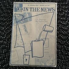 TENYO IN THE NEWS-T-6- No longer made- This is the ENGLISH version!