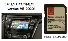 Latest Nissan Connect 3 LCN2 2020-2021 sd map update Europe version V5