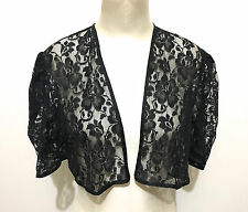 CULT VINTAGE '70 Camicia Caban Pizzo Rayon Woman Lace Shirt Sz.M - 44