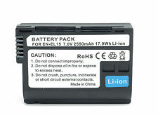 EN-EL15 2550mAh for Nikon D800e D7000 D800 D810 D610 D750 Recharge battery pack