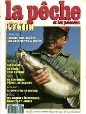 Revue  La pêche et les poissons No 556 Septembre 91