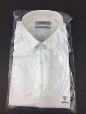 MURANO Men's White Camouflage Dress Shirt 16 1/2 -34 Slim Fit NWT $65 Dillard's