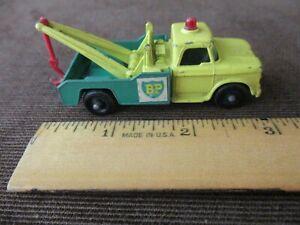 Vintage Matchbox Lesney Dodge Tow Truck #13 with British BP Logo