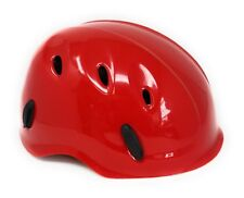 Safety Rock Climbing Caving Rappelling Rescue Helmet * Red * Made in Italy *