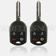 2 Car Key Fob Remote 4Btn For 2006 2007 2008 2009 2010 2011 2012 Ford Focus