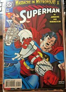 Superman #92 Massacre In Metropolis