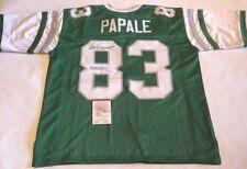 Vince Papale Autographed Philadelphia Eagles Jersey INVINCIBLE JSA Witness COA