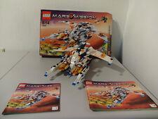 (TB) LEGO 7644 Mars Misión Nave Espacial mx-81 CON CAJA ORIG. & BA 100% COMPLETO