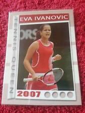 2007 Tennis Queen Ana IVANOVIC FA Collector Edition card #04/50