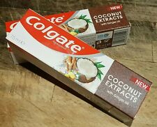 2 X COLGATE COCONUT EXTRACTS TOOTHPASTE WITH GINGER OIL 75ml