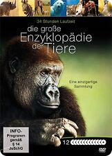 Die große Enzyklopädie der Tiere [12 DVDs]