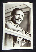 Mel Ferrer 1940's 1950's Actor's Penny Arcade Photo Card