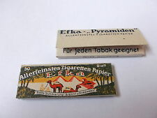 german DAK  efka pyramiden  2ww vintage  cigarette papers