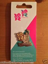 LONDON 2012 OLYMPICS TORCH RELAY (BOWNESS-ON-WINDERMERE) PIN BADGE (21.06.2012)