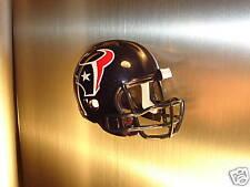 REFRIGERATOR MAGNET FOOTBALL HELMET HOUSTON TEXANS NFL
