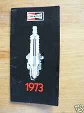 CHAMPION BOUGIES 1973 ORIGINAL BOOK CAR, BIKES,BOATS,OUTBOARD DUTCH PC40