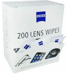 10-400 INDIVIDUAL ZEISS PRE MOIST LENS WIPES SACHETS FOR CAMERA GLASSES PHONE