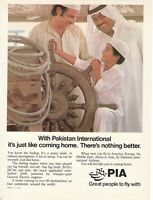 1981 Original Advertising' American Pia Pakistan International Airlines Child