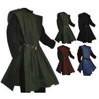 Men Medieval Tunic Renaissance Shirt Shirts Cosplay Cool Men Pullover Tops Tee