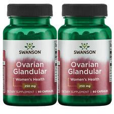 Raw Ovarian Glandular 250 mg 2X60 Caps