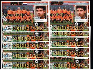 /// 10X GRENADA 2000 - MNH - SOCCER - NETHERLANDS
