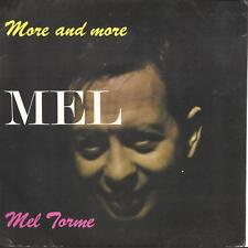 "Mel Torme More And More: The Fabulous Mel Torme UK 45 7"" EP +Picture Sleeve"