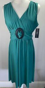 INC - Green Dress - Size M Fits AUS 12-14 - BNWT
