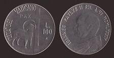 VATICANO 100 LIRE 1984 - GIOVANNI PAOLO II - Q.FDC/aUNC QUASI FIOR DI CONIO