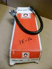 Vintage NOS Delco Battery Cable 1E16, power guard cable, 1962-63 Buick Models V8