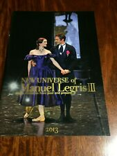 New Universe of Manuel Legris Ⅲ 2013 Booklet From JAPAN F/S