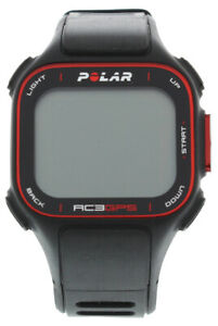 Polar RC3 GPS Without Heart Rate Sensor Black/Red OS, Color: Black/Red