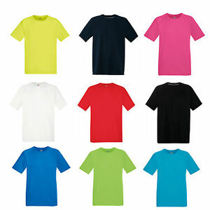 Fruit of the Loom Men's Performance T-Shirt Wicking Football Running Gym -SS210