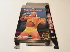 WWF WrestlingMania - Nintendo,Nes - BOX ONLY