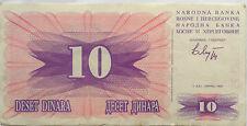 Bosnia 10 Dinara 1992 FF 75893992