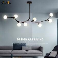 Modern Glass Chandelier Ceiling Lamp 8 branch G9 LED Pendant Lighting Fixture
