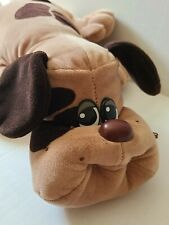 """Tonka 1985 Pound Puppies 18"""" Tan With Brown Spots"""