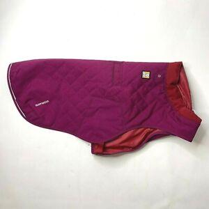 Ruffwear Larkspur Purple Stumptown Quilted Insulated Dog Jacket Medium