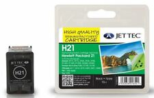 JetTec 21 C9351AE Black Remanufactured Ink Cartridge for HP - H21