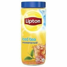 (2) Lipton Instant Unsweetened Iced Tea Mix 3 oz NEW. Made from Real Tea Leaves