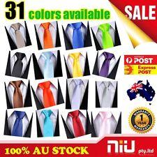 2015 Mens SKINNY TIE Plain Wedding Slim Necktie Formal Casual Narrow Party Solid