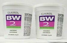 (2 PK) Clairol Professional BW2 Powder Lightener Extra-Strength Hair Bleach 8 oz