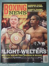 BOXING NEWS - THE LIGHT-WELTERS - NOV 5 2004